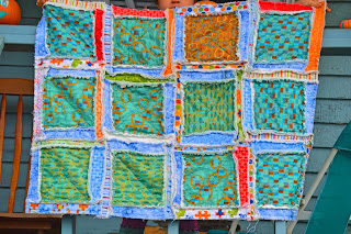 Easy Peasy Rag Quilt Blog Tour
