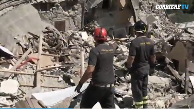 Vídeos tragedia terremoto Italia