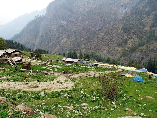 Tented Hotels at Khir Ganga