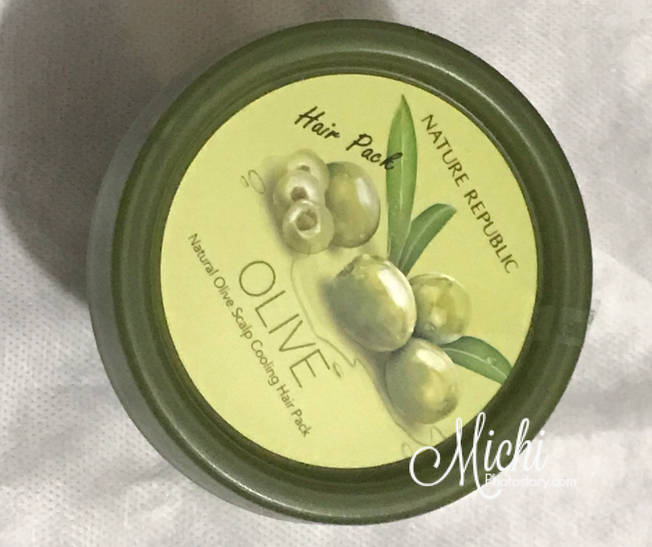 Nature Republic Olive Hair Pack Review