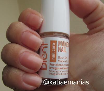 tratamento, Blant Colors, Cuidado com as unhas, katiaemanias,