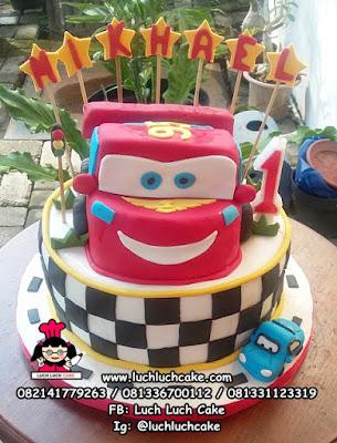 Kue Tart 3d Cars Mobil Mc Queen