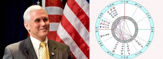 Astro Wiki Mike Pence birth chart horoscope zone