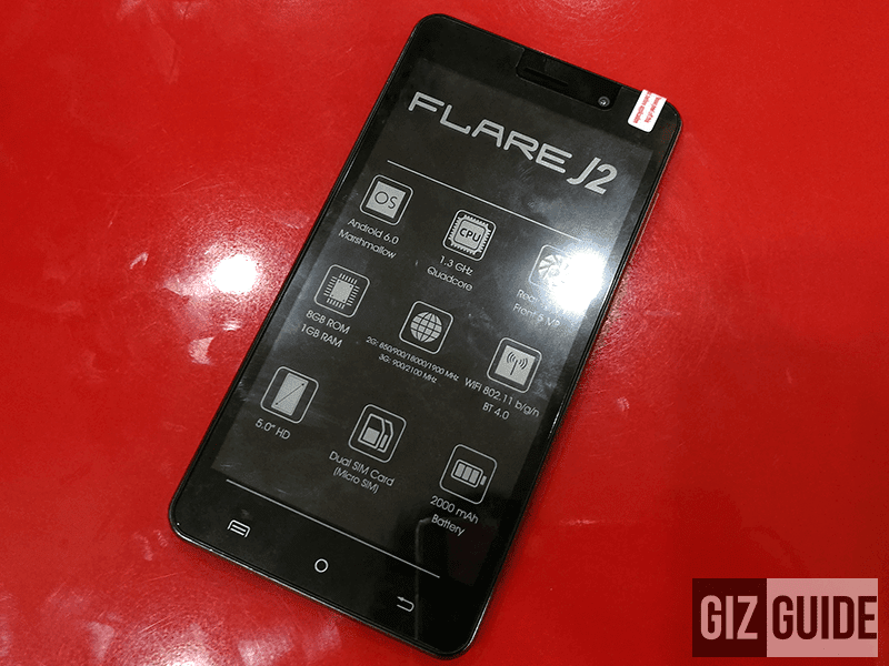 Cherry Mobile Flare J2 Now In Stores, Packs 5 Inch HD Screen And Marshmallow OS For 2999 Pesos