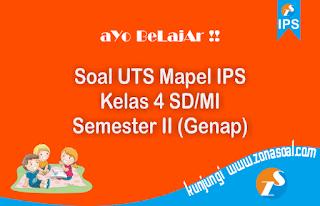 Contoh Soal Latihan UTS IPS Kelas 2 SD lengkap Kunci Jawaban