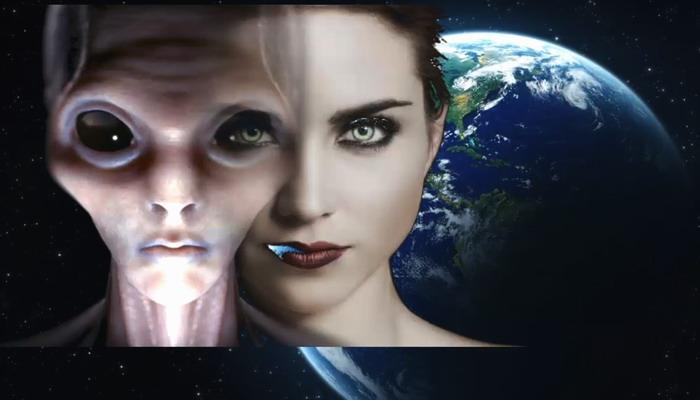 Resultado de imagen de Extraterrestres con sus hijos