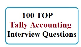 Tally Accounting Tricky Interview Questions  Accounting Interview Questions