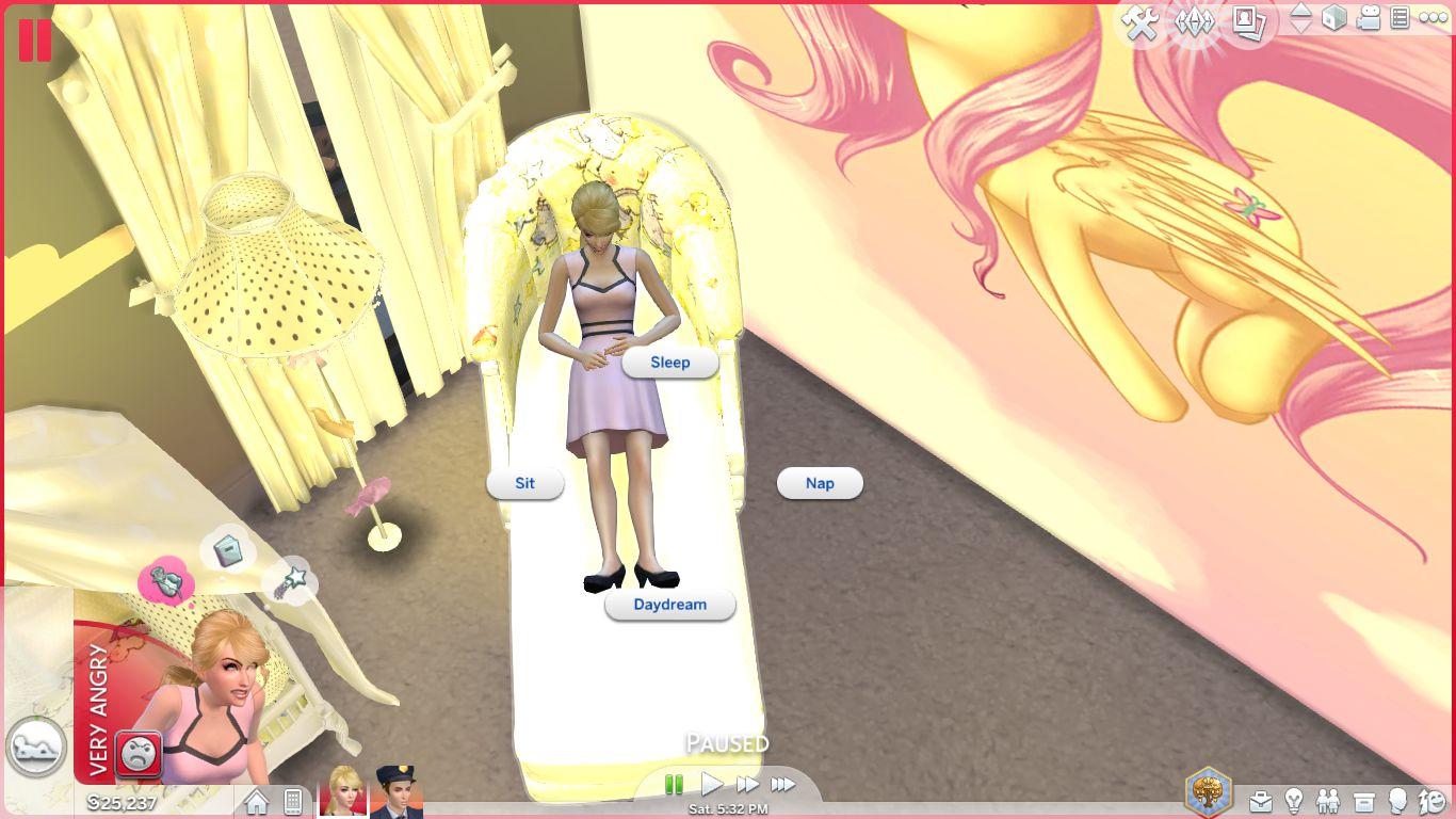 Sims 4 Cc Download Sweet Dreams Nursery Furniture Set