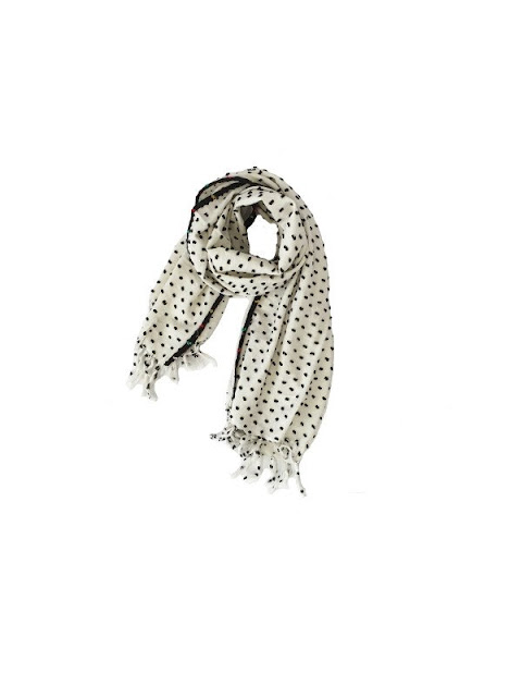 Ace & Jig Spray Scarf in Pearl