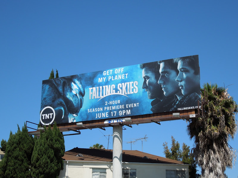Falling Skies season 2 billboard