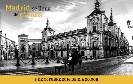 Madrid se llena de pianos este miércoles