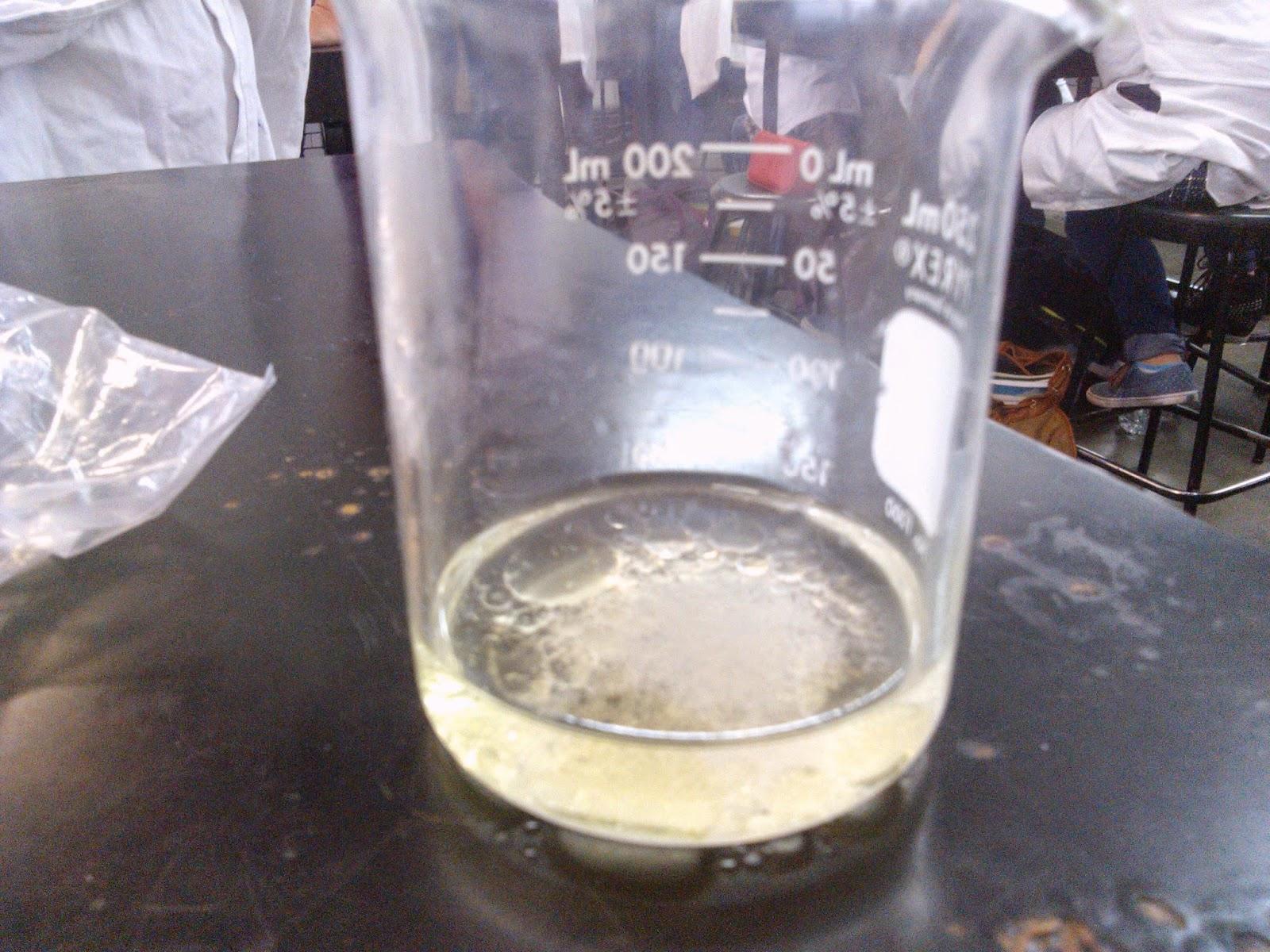 que pasa si se mezcla potable y aceite