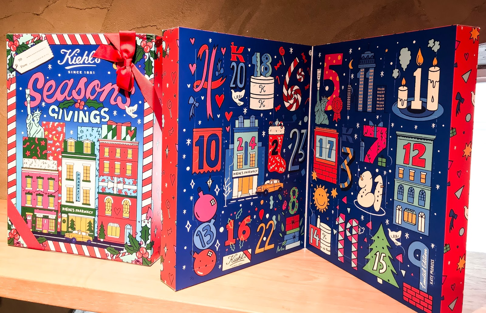 Calendario Dellavvento Kiehls.Kiehl S Limited Edition Holiday 2017 Glamorous Makeup