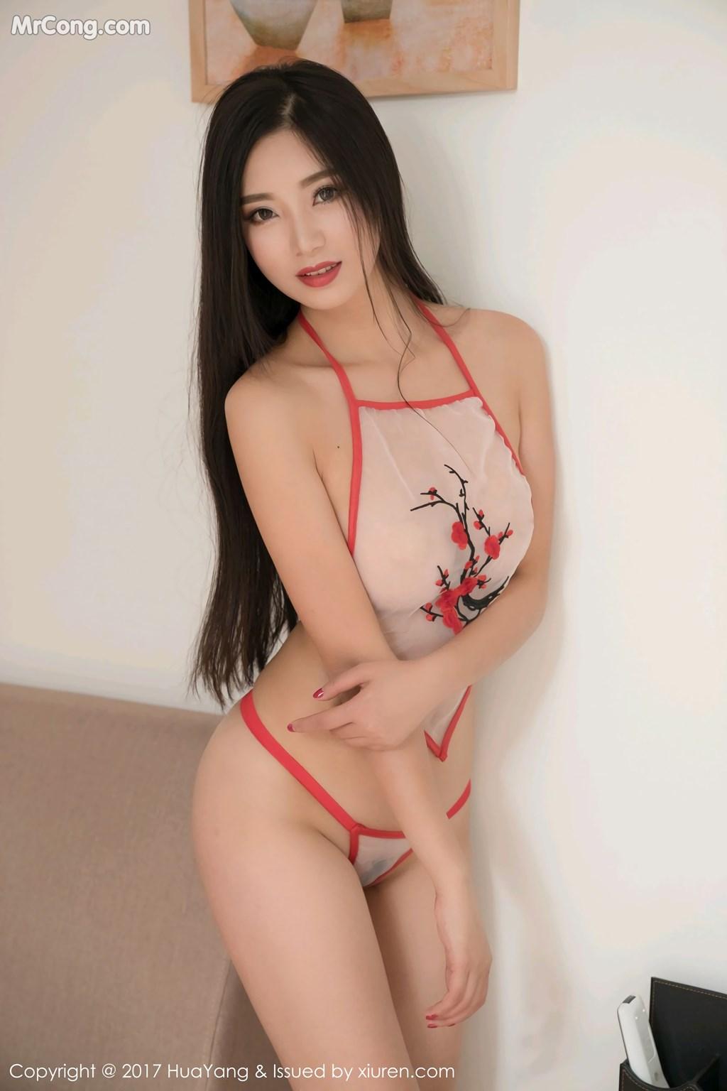 Image HuaYang-2017-11-10-Vol.015-KiKi-MrCong.com-015 in post HuaYang 2017-11-10 Vol.015: Người mẫu 宋-KiKi (45 ảnh)