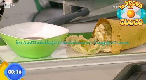Cartoccio di pollo e fiori ricetta Parizzi da Prova del Cuoco