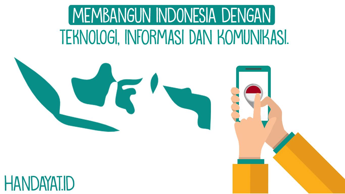 Membangun Indonesia melalui Teknologi, Informasi dan Komunikasi, Bisakah?
