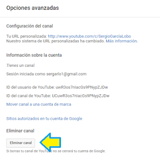 YouTube, canal, eliminar, videomarketing, tutorial, videotutorial,