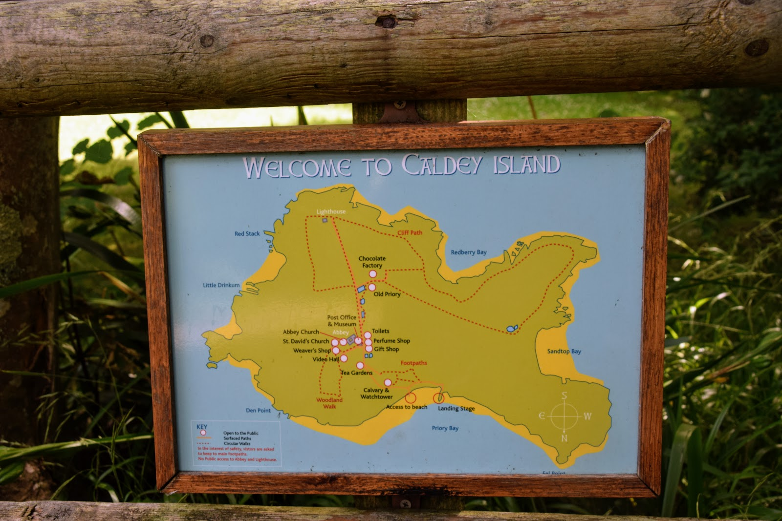 , The John Muir Award- Our Visit to Caldey Island
