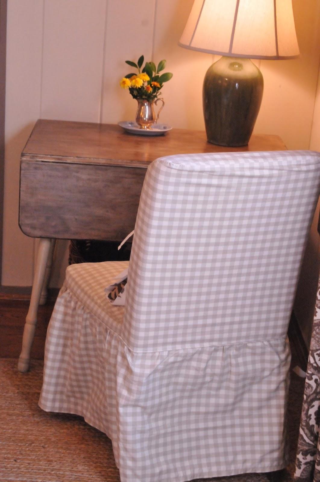 NINE  SIXTEEN Our Home  Work Corner  Bemz Slipcovers