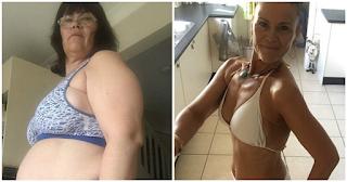 50χρονη γιαγιά έχασε 31,5 κιλά χωρίς να κάνει γυμναστική και η αλλαγή της είναι εξωπραγματική - ΕΙΚΟΝΕΣ