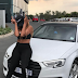 Nadia Nakai blesses herself with a new car Audi