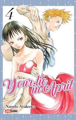 Reseña: Your lie in April 4- Naoshi Arakawa