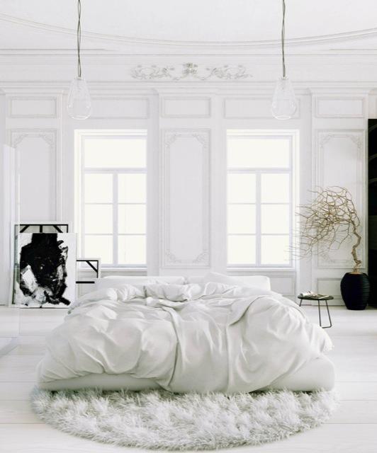 total white decor