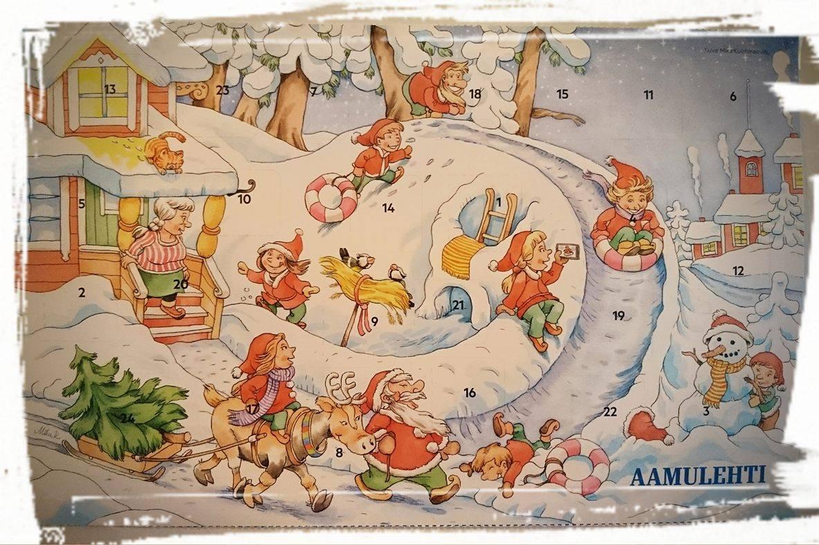 joulukalenteri 2018 aamulehti Joulua Sydämellä: Joulukalenteri joulukalenteri 2018 aamulehti