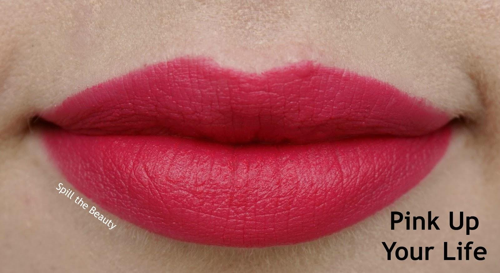 essence matt matt matt lipstick review swatches 4 pink up your life
