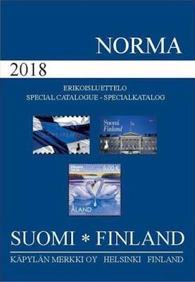 Norma postimerkkiluettelo 2018