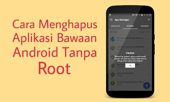 Cara Menghapus Aplikasi Bawaan (Bloatware) Di Hp Android Xiaomi Tanpa Root