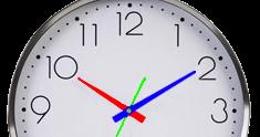 47102fc6e9 Menu da Terra: Como olhar a hora em relógio de ponteiro (analógico).
