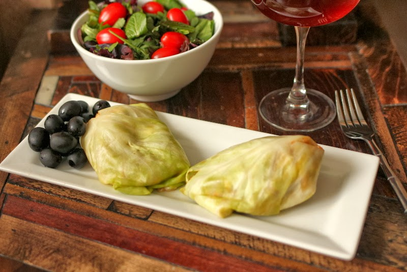 Healthy Pork and Cabbage Rolls and PROBIOTICS