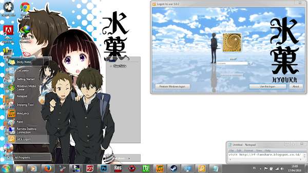 [Theme Win 7] Hyouka by Eldiaz7 2