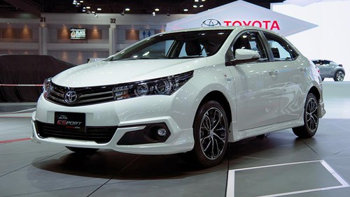 Toyota Corolla Esport Thailand Edition Launches