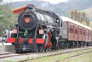 Resultado de imagem para Trem a vapor no brasil
