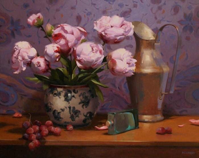 Рисунки цветов. Laurie Kersey 9