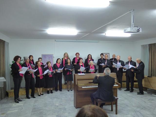 Με τραγούδια του Μ.Θεοδωράκη η δημοτική χορωδία Επιδαύρου συμμετείχε στην επέτειο της Α΄ Εθνικής Συνέλευσης