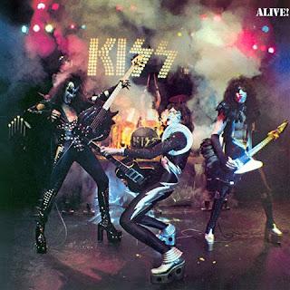 Kiss Alive Album Cover