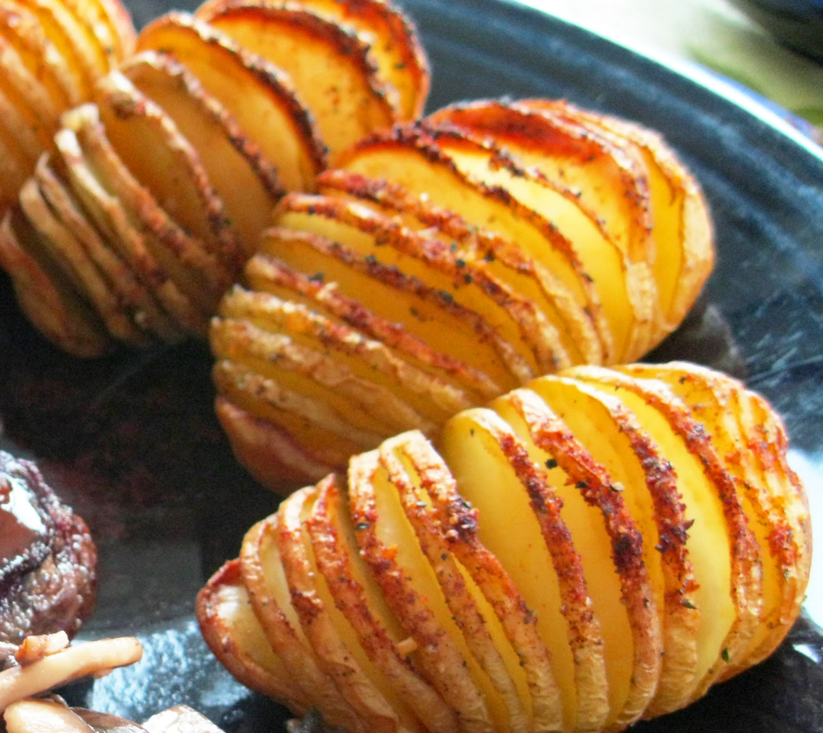 Healthy You: Sliced Baked Potatoes
