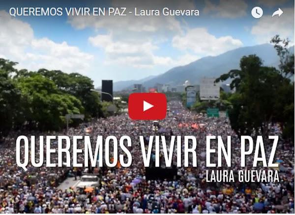 La nueva canción de Laura Guevara que hace el llamado a la calle