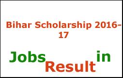 Bihar Scholarship 2016-17