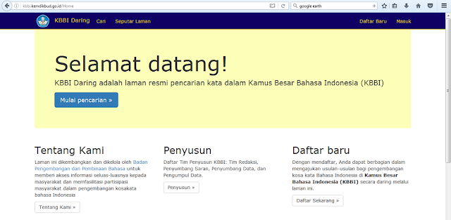 http://kbbi.kemdikbud.go.id/Home