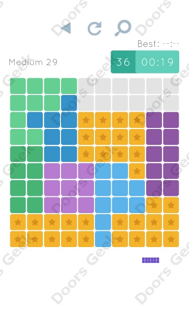Cheats, Walkthrough for Blocks and Shapes Medium Level 29