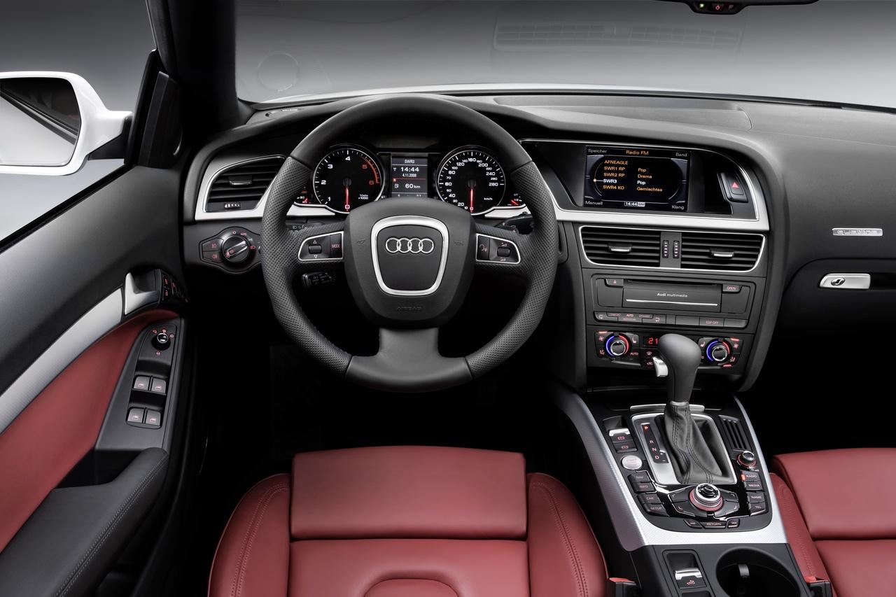 cool cars audi a5 interior. Black Bedroom Furniture Sets. Home Design Ideas