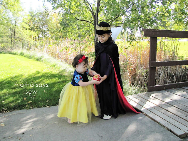 Mama Says Sew: Snow White And The Evil Queen Halloween