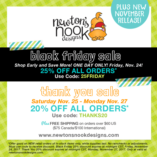 2017 Black Friday Sale | Newton's Nook Designs #newtonsnook