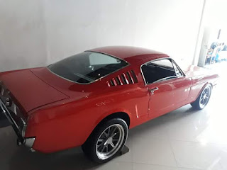 Mustang Fastback 1965, V8 engine 289
