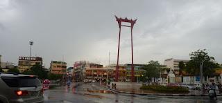 Columpio Gigante de Bangkok.