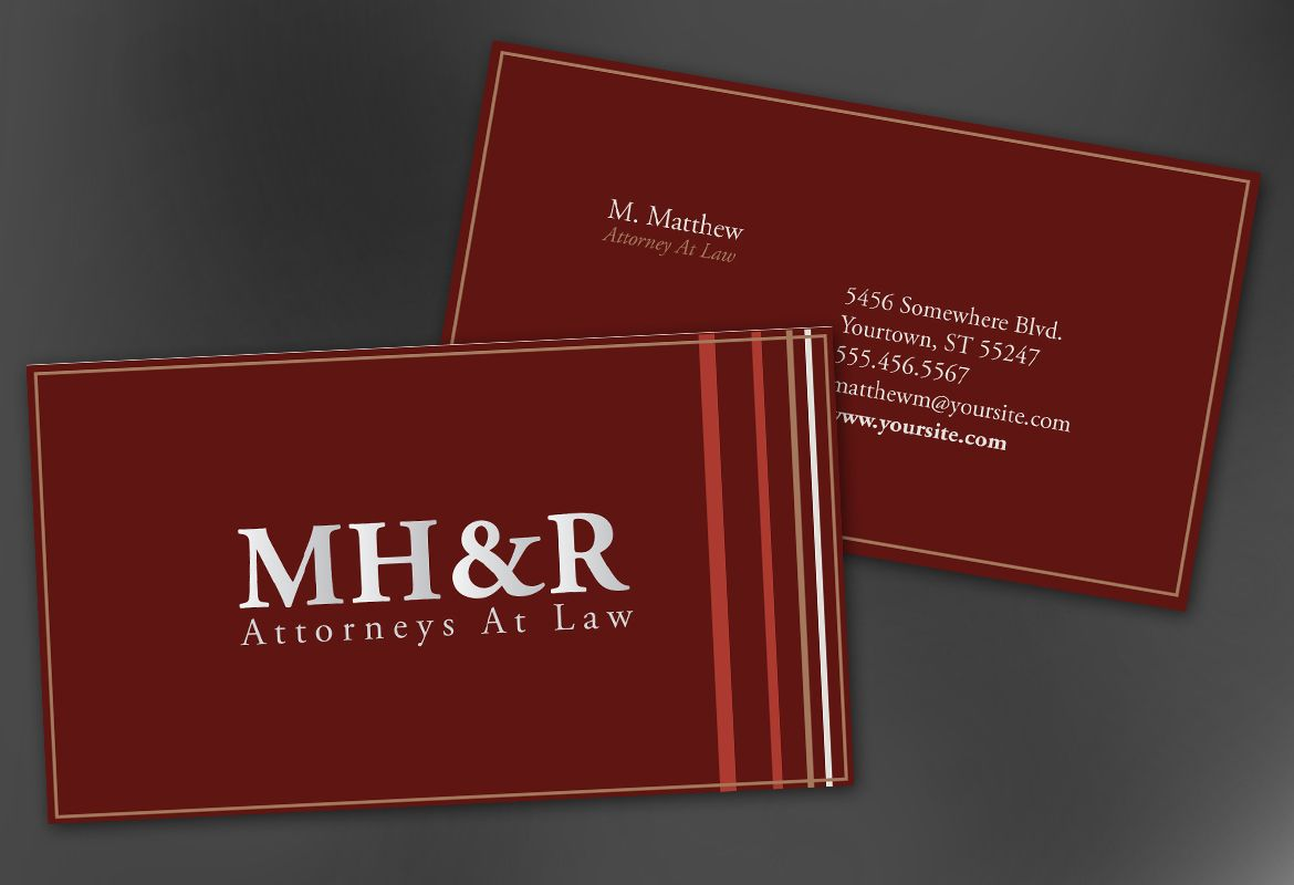 Attorney business cards business card tips lawyer business card templates free attorney business cards rules law office business cards friedricerecipe Image collections
